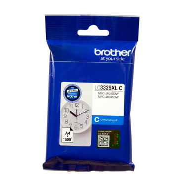 Brother Cyan Ink Cartridge To Suit Mfc-J5930Dw/ J6935Dw - Up To 1500 Pages Lc3329Xlc