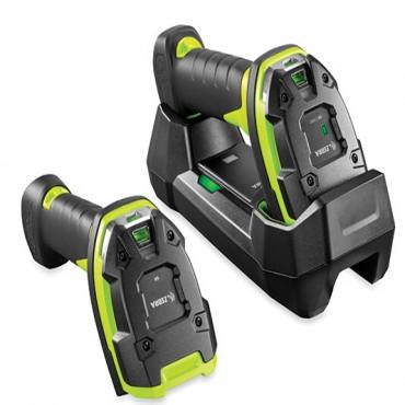 Zebra Li3678:rugged, Linear Imager, Std Range, Cordless, Fips, Industrial Green, Vibration Motor
