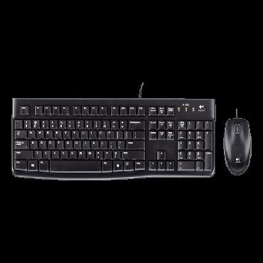 Logitech Desktop MK120 Keyboard and Mouse LOGCOMMK120USBC