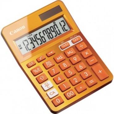 Canon Orange Desktop Tax Calculator Ls123kmor