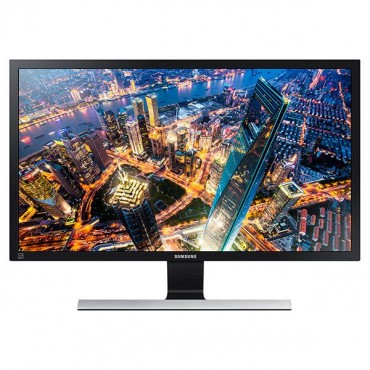 "Samsung 28"" Wide, Tn, 3840x2160 Uhd, ~2ms, 170/ 160 Viewing Angle, 1b Colours, 60hz Refresh Rate, 75x75"