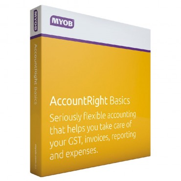MYOB Account Right Basics for Windows Based PC Only 9316869102078