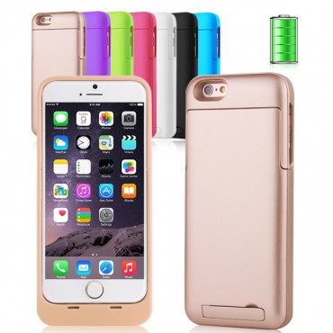 """3200mah Charger Case (power Battery) For 4.7"""" Iphone 6 Mobvmxip6chacsbk"""