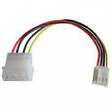 Generic Power Cable: molex power to floppy type 4 pin cable Molex-floppy