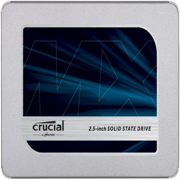 "Crucial MX500 500GB 3D NAND SATA 6Gbps 2.5"" SSD - Read up to 560MB/s Write up to 510MB/s (includes"