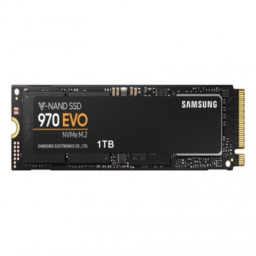 SAMSUNG 1TB SAMSUNG 970 EVO 64L 3-BIT MLC V-NAND M.2 (2280) NVME R/W(MAX) 3400MB/S/2500MB/S 500K/