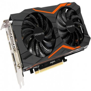 Gigabyte nVidia GeForce GTX 1050 Ti G1 Gaming 4GB PCIe Video Card 7680x4320 @ 60Hz 1x DP, 3x HDMI