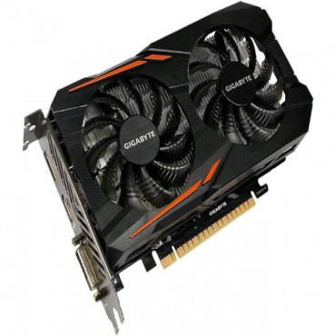 Gigabyte nVidia GeForce GTX 1050 Ti OC 4GB PCIe Video Card 7680x4320 @ 60Hz, DP, HDMI, DVI-D,