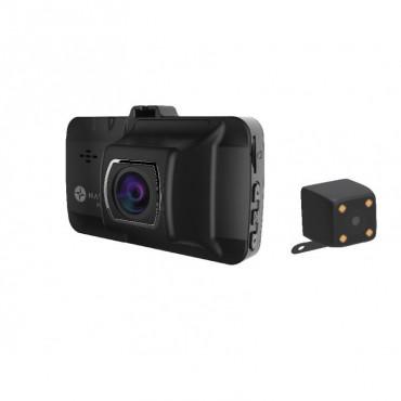 Laser Dual Car Crash Camera with Wi-Fi and GPS NAVC-817D
