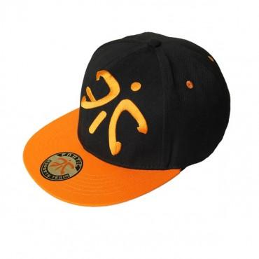 Fnatic Black Flat Cap With Logo Nfnc-flat-cap