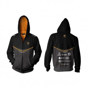 Fnatic Black Small Player Zipped Hoodie 2014 Nfnc-hood14-zip-s