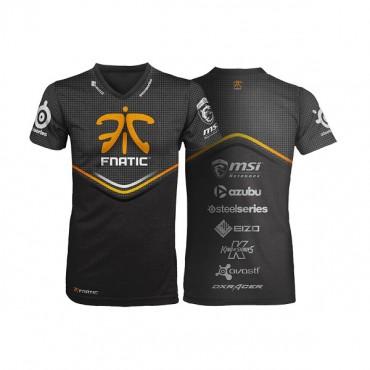 Fnatic Black 2xl Player T-shirt 2013-14 Nfnc-tshirt13-player-2xl