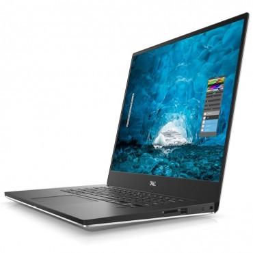 "Dell XPS 15 Laptop I7-8750H 15.6"" Uhd 16Gb 512Gb Gtx 1050Ti 4Gb Silver W10P 3Y Pro + Kyhd 25206473.2A"