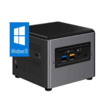Intel Mini Nuc Pc N3700 8 Gb (1/ 1) 240Gb Ssd Wl-Ac W10P 3Yr Nbd Nuc5H-Pent-8-240