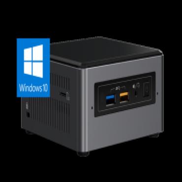 Intel Ultra Mini Nuc Pc I7-8650U Vpro 4Gb(1/ 2) 256Gb Ssd Wl-Ac W10P 3Yr Nbd Nuc7Dnk-I7-4-256