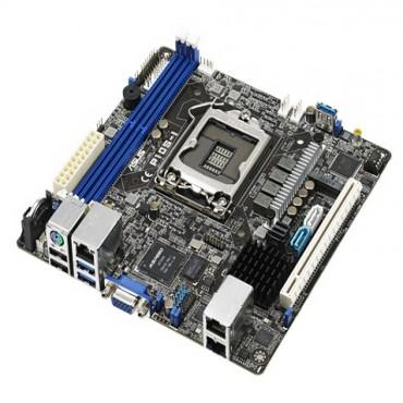 ASUS P10S-I LGA1151 MINI-ITX SERVER BOARD - XEON E3 V5/2*DDR4 ECC&NON-ECC UDIMM(MAX.32GB)/6*SATA/2*INTEL