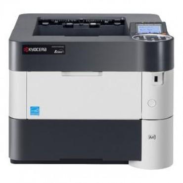 KYOCERA ECOSYS P3060DN A4 WG MONO PRINTER / A4 / 60PPM / 1X100 SHEET TRAY 1X500 SHEET TRAY / USB