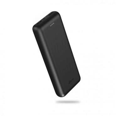 Tp-Link 20000Mah Power Bank 2.1A Fast Charge Usb(2) Micro Usb(1) 1Yr Wty Tl-Pb20000