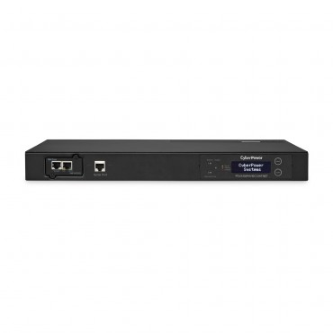 Cyberpower 1U Switched Auto Transfer Switch 10Amp Input/ Output- (Pdu15Swhviec12Atn)- Snmp Network