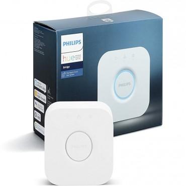 Philips Hue Smart Bridge, Compatible with Google Assistant, Amazon Alexa, Apple HomeKit