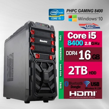Phpc Gaming 8400 (16Gb Ram/ 2Tb Hdd) Phpcsysgame8400