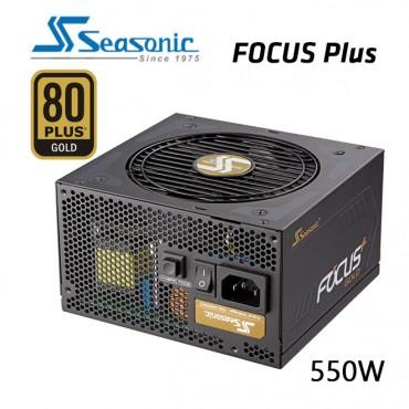 Seasonic 550W Focus Plus Gold Psu (Ssr-550Fx) Gx-550 (Oneseasonic) Psuseafocus550Fx1