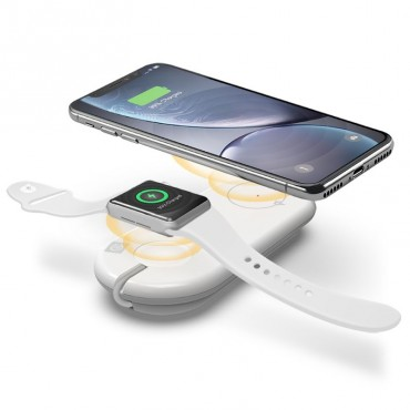 Alogic Iphone & Iwatch Wireless Charger - In Built Wireless Charging 7.5W Iphones Watch Charging Dock Qc10Awnqh