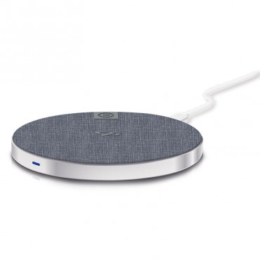 Alogic Wireless Charging Pad - 10W - Prime Series - Silver Qc10Mslv