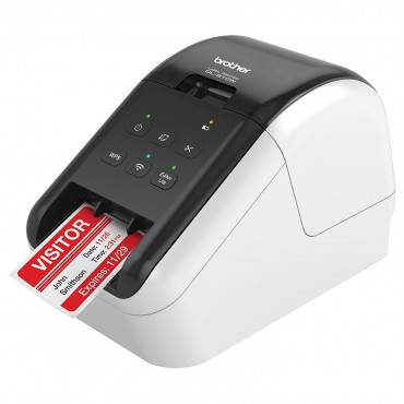 Brother Wireless (wifi) High Speed Label Printer/ Up To 62mm With Black/ Red Printing (dk-22251 Required)