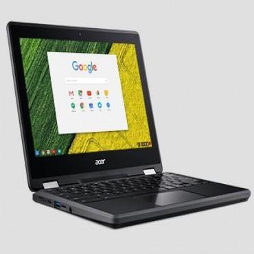 "Acer Chromebook Spin 11 11.6"" Hd Ips Touch (1366x768) Intel Graphics 4gb Ddr3 32gb Ssd Hd Webcam 2xusbc"