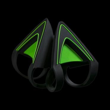 Razer Kitty Ears For Razer Kraken - Green - Frml Packaging Rc21-01140200-w3m1