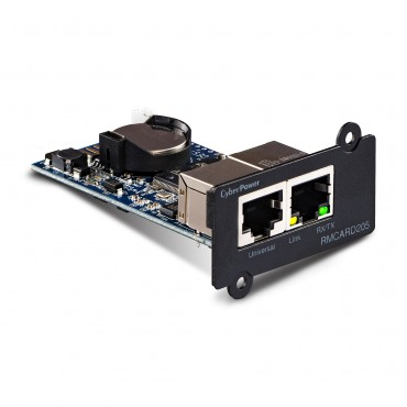 Cyberpower Snmp Card All Pro Ups And Envirosensor Rmcard205