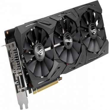 Asus Rog Strix Radeon Rx 590 8Gb Gddr5 With Impressive Cooling For High Refresh Rates And High-Res