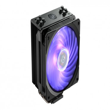 Coolermaster Hyper 212 Rgb Black Edition Gun-Metal Black With Brushed Aluminum Surface Rr-212S-20Pc-R1