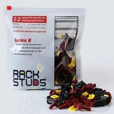 RackStuds Series II Red: 100 Pack (RSL2.2R100.S2)