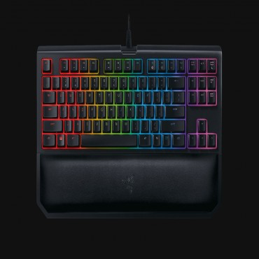 RAZER BLACKWIDOW TOURNAMENT EDITION CHROMA V2 MECHANICAL GAMING KEYBOARD - US LAYOUT FRML (YELLOW SWITCH) RZ03-02190800-R3M1