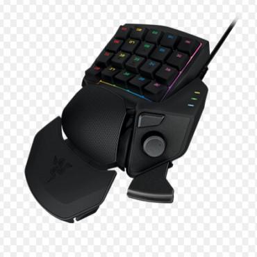 Razer Keyboard: Orbweaver CHROMA, Mechanical Switches/ 30 fully programmable keys/ Adjustable hand