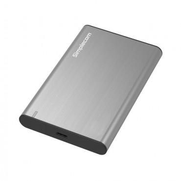 Simplecom SE221 Aluminium 2.5'' SATA HDD/SSD to USB 3.1 Enclosure Silver Se221-Sl