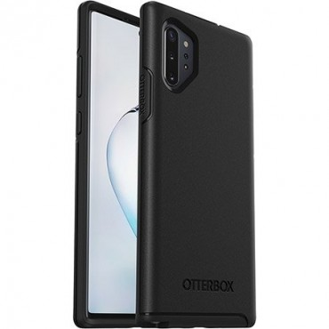 Otterbox Galaxy Note10+ Symmetry Series Case Black 77-62336