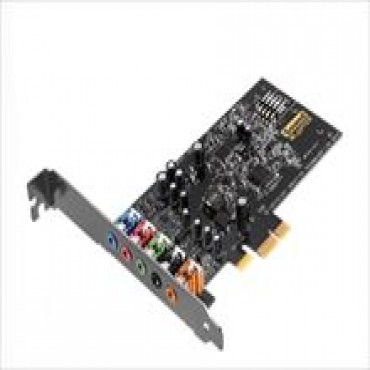 Creative Sound Blaster Audigy FX 5.1 PCIe Sound Card with SBX Pro Studio with low profile bracket
