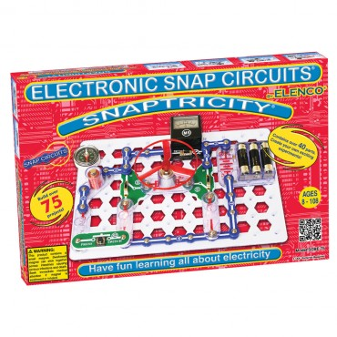 Snap Circuits Snaptricity Scbe-75