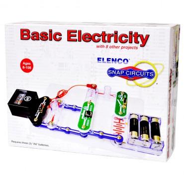 Snap Circuits Mini Kit Basic Electricity Scp-10