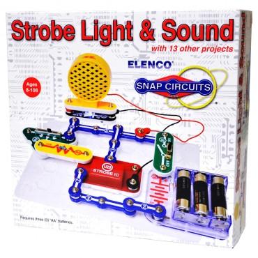Snap Circuits Mini Kit Strobe Light & Sound Scp-14