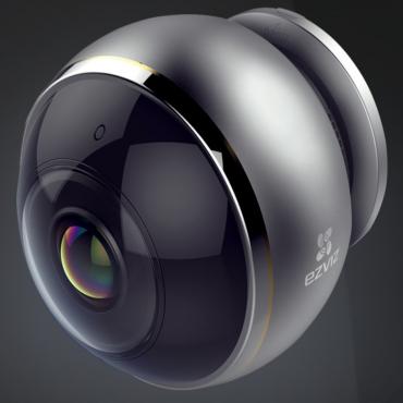 Ezviz C6P Smart Wireless 360 Camera Hdr 2-Way Audio Ir Microsd Ac Power 2Yr Cs-Cv346-A0-7A3Wfr