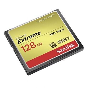 SANDISK Extreme CF 128GB, 120MB/s read, 85MB/s write SDCFXSB-128G-G46