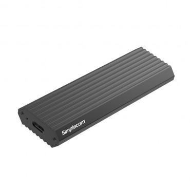 Simplecom Se513 Nvme Pcie (M Key) M.2 Ssd To Usb 3.1 Gen 2 Type C Enclosure 10Gbps Grey Se513-Gr