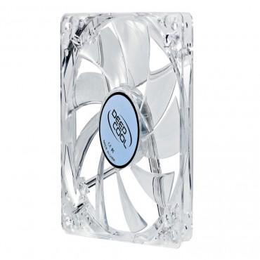 Deepcool Case Fan: 120mm With Molex Connector 1300 Rpm Blue Led Sf-xfan 120l/b Blue