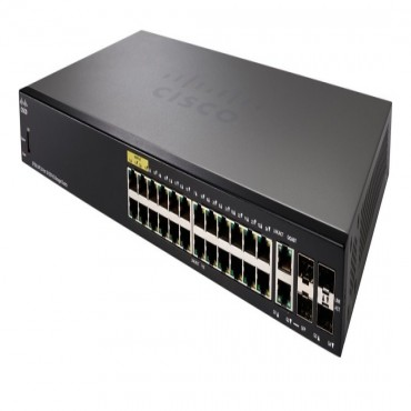 Cisco (Sf350-24-K9-Au) Cisco Sf350-24 24-Port 10/ 100 Managed Switch Sf350-24-K9-Au