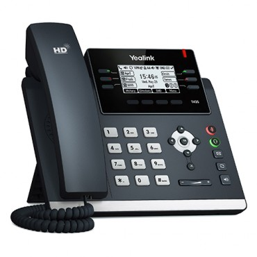 "Yealink Sip-T42S - 12 Line Ip Phone 2.7""192X64 Pixel Graphical Lcd With Backlight Dual Gigabit"
