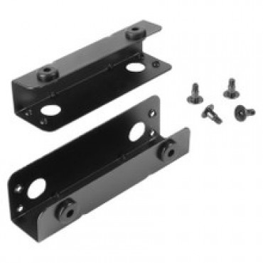Sharkoon 2 Decoupled Mounting Angles For Hard Disk Drives For: Rebel9 Aluminum, Rebel9 Pro And 212801